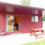 2 Bedroom Cabin with Patio Access